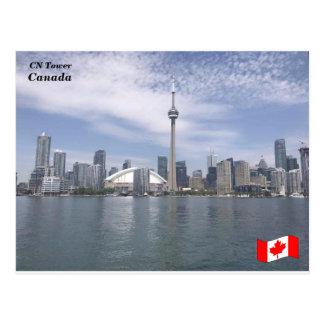 Postal Torre del NC, Ontario, Canadá (a)
