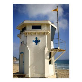 Postal Torre del salvavidas