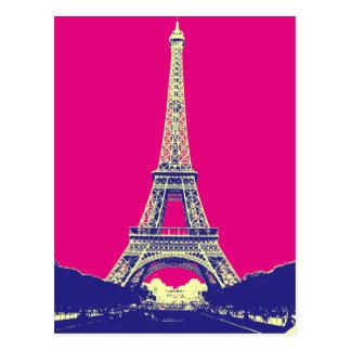Postal Torre Eiffel 2