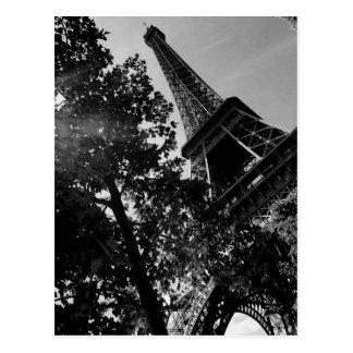 Postal Torre Eiffel 2 de B&W