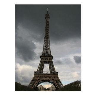 Postal Torre Eiffel, París