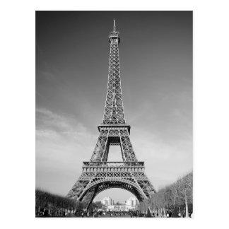 Postal Torre Eiffel París