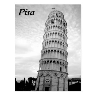 Postal Torre inclinada de Pisa