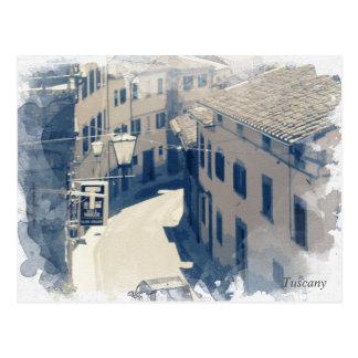 Postal Toscana. Italia. Cortona