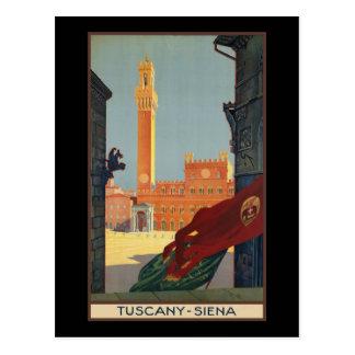 Postal Toscana Siena