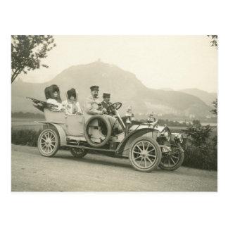 Postal touring car 1907 o faetón de c