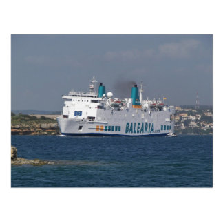 Postal Transbordador Isla De Botafoc