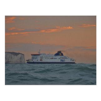 Postal Transbordador que entra en Dover