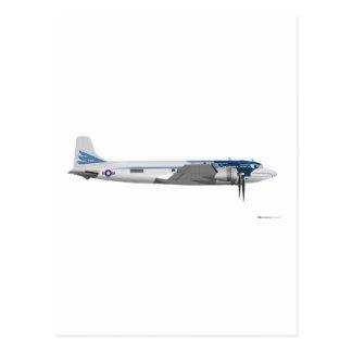 Postal Transporte presidencial de Douglas C-54