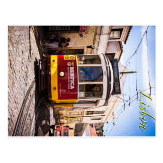 Postal Tranvía de Lisboa