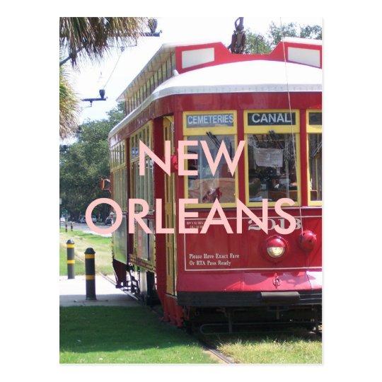 Postal Tranvía de New Orleans
