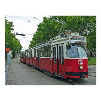 Postal Tranvía eléctrico 2014 de Viena