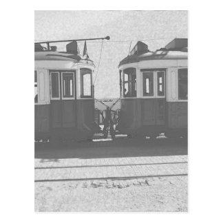 Postal Tranvías de Lisboa