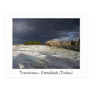 Postal Travertinos - Pamukkale (Turquía)