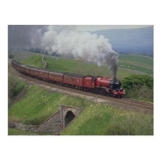 Postal Tren del vapor
