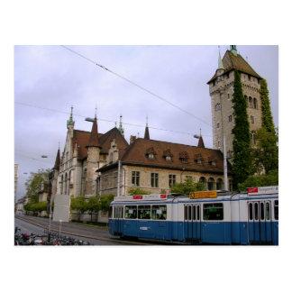 Postal Tren en Suiza