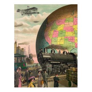 Postal Trenes, aviones y todo