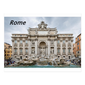 Postal Trevi-Fuente, - Roma, - Angie.JPG