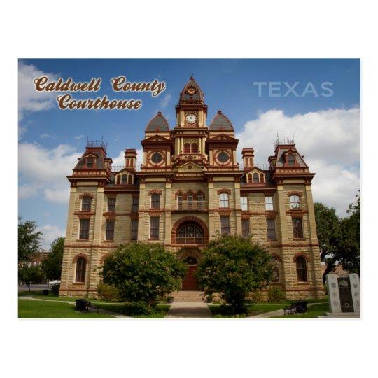 Postal Tribunal del condado de Caldwell, Lockhart, Tejas