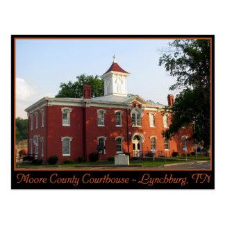 Postal Tribunal del condado de Moore - Lynchburg, TN