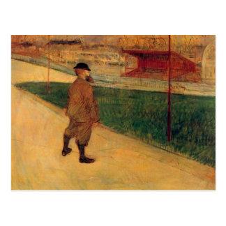 Postal Tristan Bernard por Toulouse-Lautrec