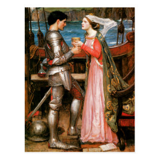 Postal Tristan e Isolda