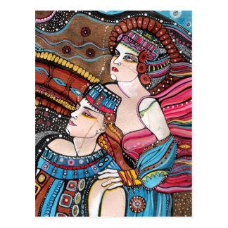 Postal Tristan e Isolda - una historia de amor