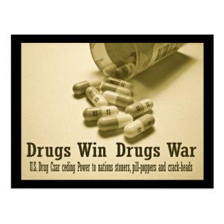 Postal ¡Triunfo de las drogas!