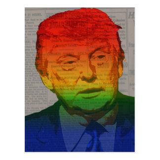 Postal Triunfo del arco iris