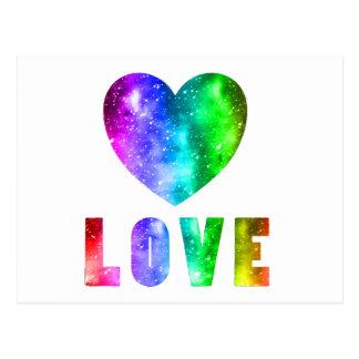 Postal Triunfos del amor
