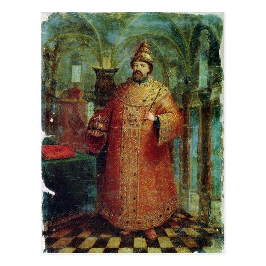 Postal Tsar Ivan Alexeevich V