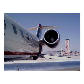 """Postal """"Tucson: ¿El volar adentro o hacia fuera? """""""
