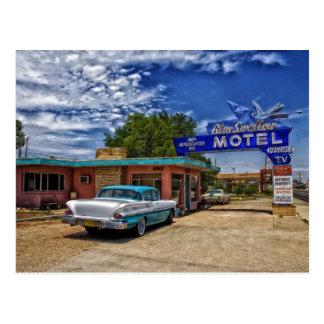Postal Tucumcari, nanómetro - Rt 66