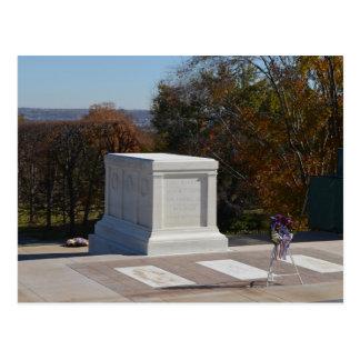 Postal Tumba del soldado desconocido Arlington