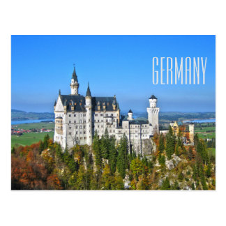 Postal Turismo del viaje de Alemania