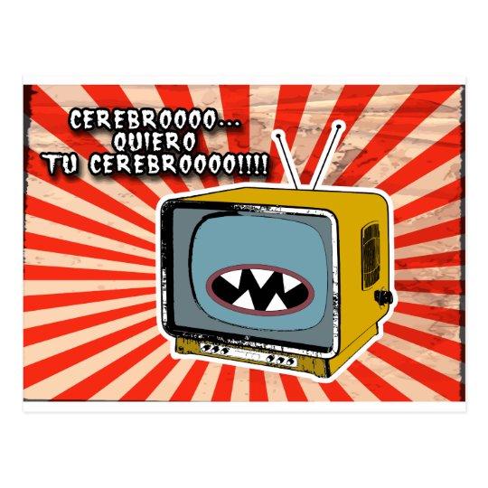 Postal tv-zombie