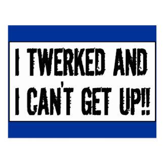 Postal ¡Twerking más allá de 75' twerked y no puedo