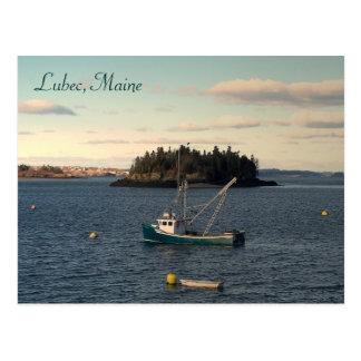 Postal Última hora de la tarde en Lubec, Maine