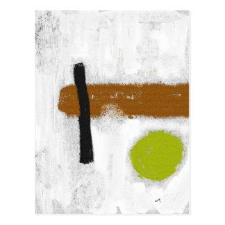 """Postal """"un Círculo Verde """""""