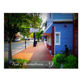 Postal Un día en Moorestown, NJ