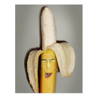 Postal Un dolor de cabeza que parte del plátano
