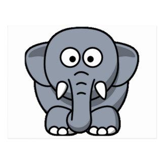 Postal Un elefante más lindo