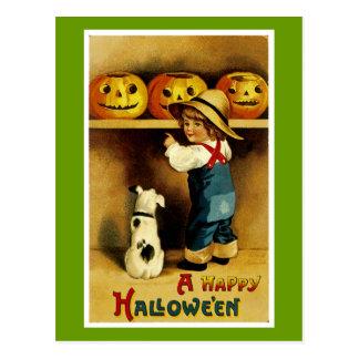 Postal Un feliz Halloween