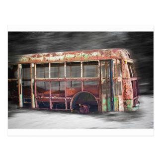 Postal Un mejor autobús escolar de los días en el
