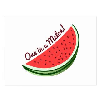 Postal Un melón