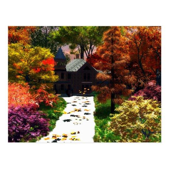 Postal Un momento de otoño