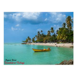 Postal Un paraíso del Caribe