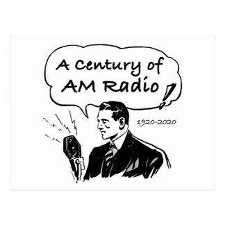 Postal Un siglo de radio de la