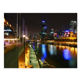 Postal Una noche en Melbourne