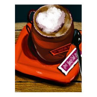 Postal Una taza de café